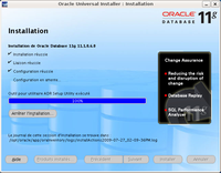Installation d'Oracle : étape 8